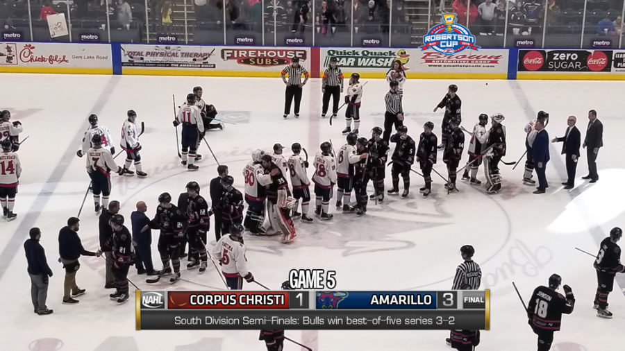 ICERAYS FALL TO BULLS IN SEASON-ENDING 3-1 LOSS MONDAY